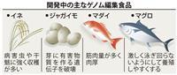 ゲノム編集食品「日本農業の変革点に」 農作物や魚…進む実用化