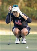 154位の原「悔しいが、実力」 全米女子OPゴルフ第1日