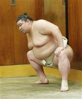 正代、相撲取る稽古「体と相談」 かど番の初場所…精神面も鍵