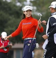 渋野67で3打差首位浮上 全米女子OPゴルフ第2日