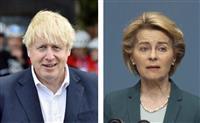 難航の英EU交渉、正念場 FTA、期限まで3週間