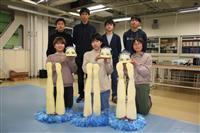 小山高専、ロボコン全国大会初優勝 アーティスティックスイミング再現