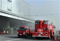 宇都宮の倉庫火災 出火から半日以上経過しようやく鎮火