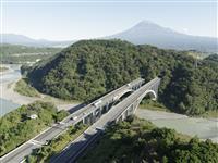 新東名、静岡県で最高120キロ 6車線化で渋滞緩和