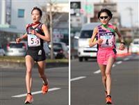 五輪代表の一山、前田が対決 大阪国際女子マラソン