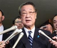 自民・下村政調会長、吉川元農水相辞任後の補欠選挙「厳しい」