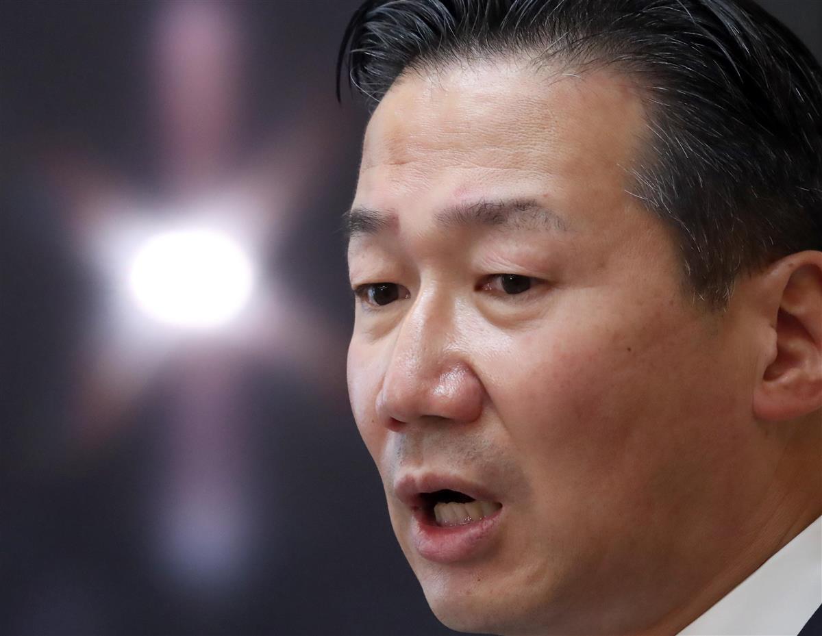 立憲民主党・福山哲郎幹事長(春名中撮影)