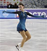 16歳シェルバコワが女子SP首位 フィギュアのロシア選手権