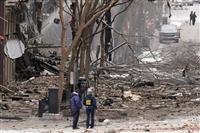 人体の一部みつかる 米南部ナッシュビルの繁華街で車両爆発 3人負傷