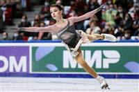 シェルバコワ3連覇「とても幸せ」 フィギュア露選手権女子