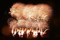 新年へ希望込め…花火5000発 福島・南相馬、ライブ配信も