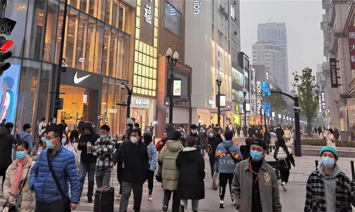 武漢市 繁華街