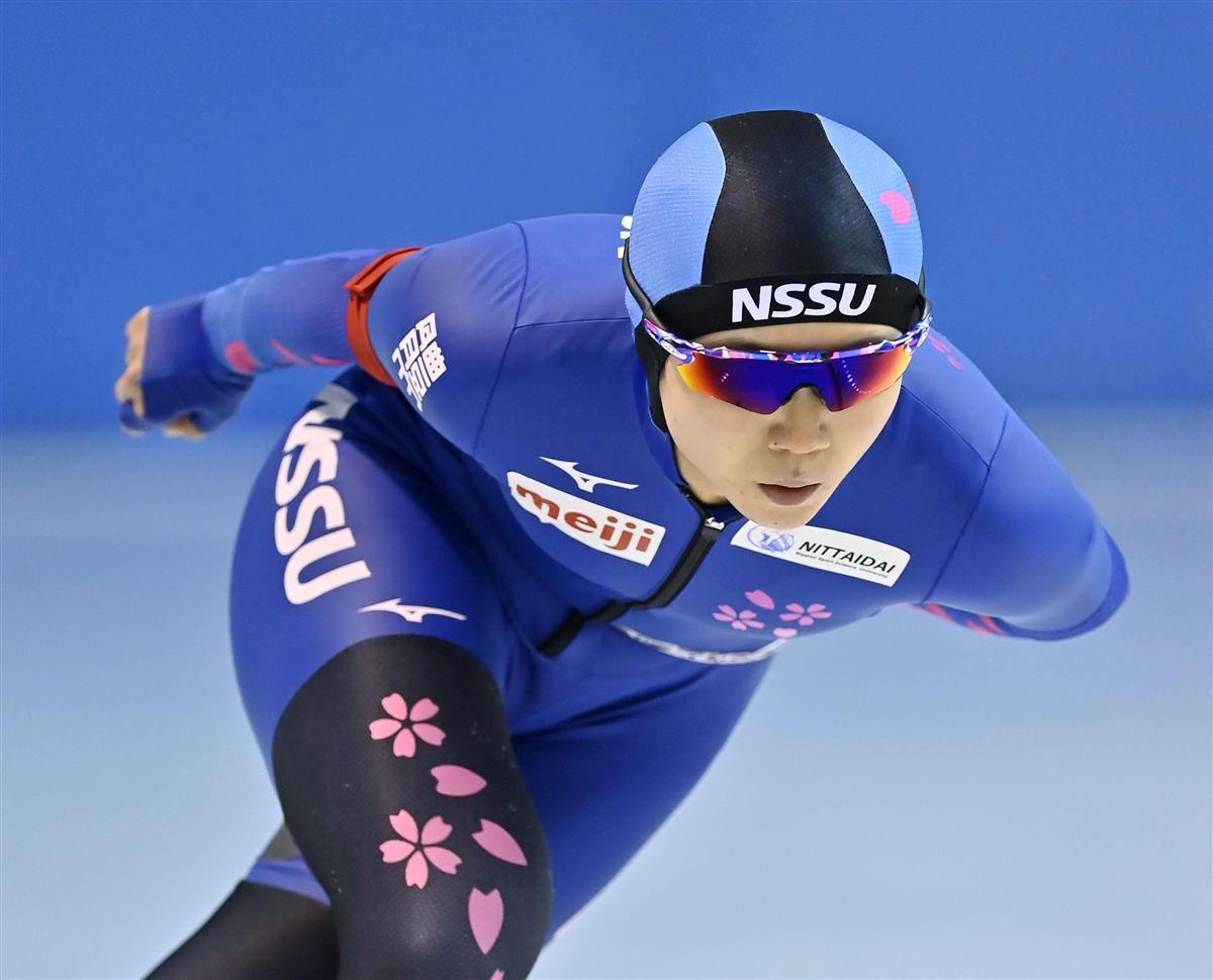 高木美が全5種目制覇 全日本スピードスケート