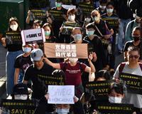 台湾密航試みた香港民主派10人に実刑判決 中国の裁判所