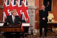 英、「EU完全離脱」完了へ FTA合意に署名