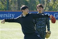 小川、開幕投手に名乗り 箱根駅伝で後輩から刺激