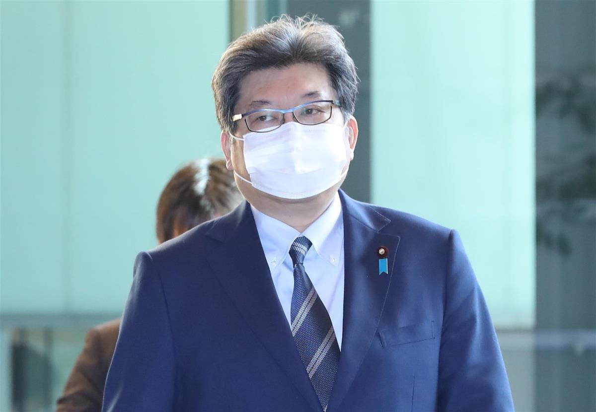 萩生田光一文科相(春名中撮影)
