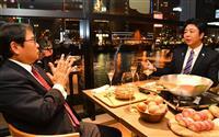 【九州新春対談】九電・池辺社長×福岡・高島市長(下) 「日本一を知った高校時代」「努力…