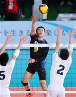 【春高バレー速報】(4)男子は駿台学園、清風が勝利 女子は佐賀清和が3回戦進出