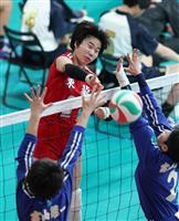 【春高バレー速報】(6)鎮西ストレート勝ち 女子の東京都市大塩尻は3回戦へ
