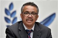 中国に「大変失望した」 WHOテドロス事務局長が表明