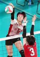 女子の千葉県代表・敬愛学園、強豪相手に奮戦も及ばず 春高バレー