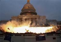 米上院両院合同会議が再開 トランプ氏支持者侵入で一時中断