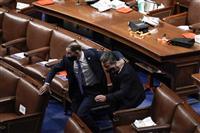 米議会占拠、民主主義諸国に衝撃 独首相、トランプ氏を批判
