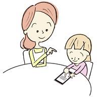 【子ども点描】2歳児が指を開いて画面拡大 IT時代の新たな発達指標