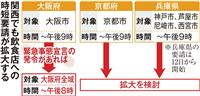 京阪神の飲食店、時短は継続・拡大へ 店主ら動揺も