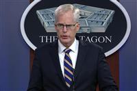 米国防長官代行、占拠非難 「憲法の原則に反する」