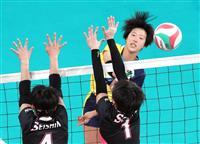 【春高バレー速報】(1) 女子は大阪国際滝井が決勝進出 東九州龍谷をストレートで下す