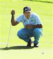 松山は最下位42位に沈む 米男子ゴルフ第2日