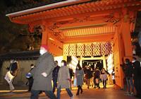 係員が誘導、歩いて参拝 福男選び中止の西宮神社