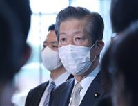 関西3府県の宣言要請「的確に応答を」 公明・山口代表