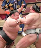 貴景勝、3連敗で綱取り絶望的 「我慢してやっていく」