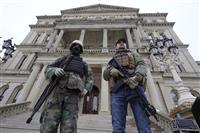 大統領就任式への武装抗議を警告 FBI、州兵1万人配備