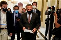 民主党、トランプ大統領弾劾決議案を下院に提出 「反乱を扇動」