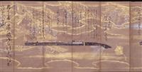 桃山期の鉄砲術伝書に源氏絵 奈良・大和文華館で公開