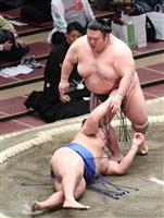 貴景勝が初勝利 3大関安泰 大相撲初場所