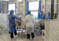 大阪重症センター運用1カ月 看護師確保も病床は予断許さず