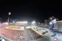 北朝鮮軍事パレードは「軍事力誇示する動き」 岸防衛相
