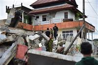 インドネシア地震34人死亡 スラウェシ島、6百人負傷