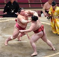 大栄翔が隆の勝を倒して7連勝 「三役総なめ」の快挙