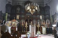 函館のハリストス正教会、閉鎖前最後の礼拝 2月から大規模改修