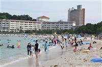 白浜温泉の宿泊客数、コロナで前年の4割減 和歌山