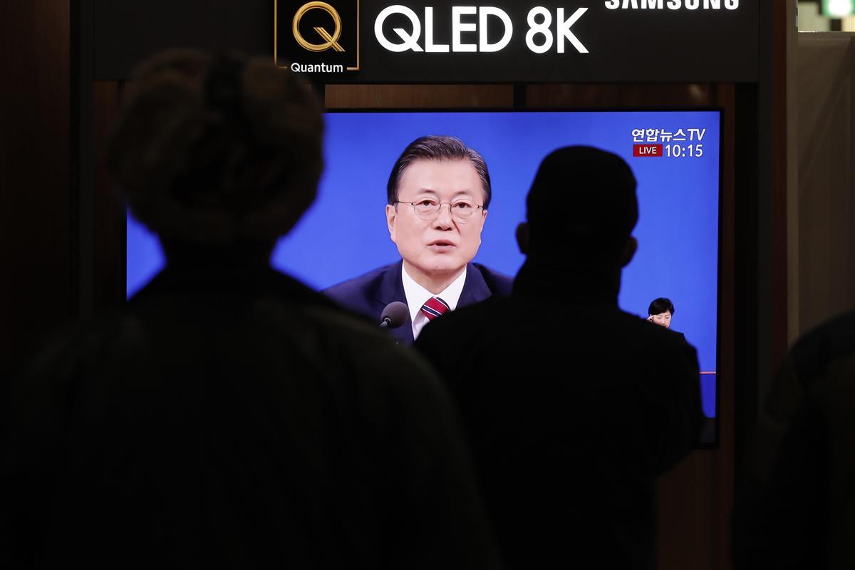 韓国大統領が年頭記者会見、慰安婦訴訟判決に言及か