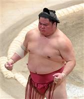 正代と大栄翔、2敗でトップ 朝乃山かど番脱出、1差2人