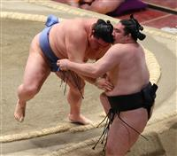 正代、大栄翔の首位変わらず 2差に5人 大相撲初場所