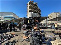 バグダッドで2件の自爆テロ、70人以上死傷